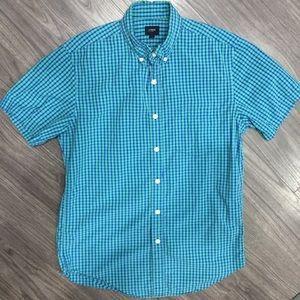 J Crew, Size Small, Short Sleeve Button Down Shirt